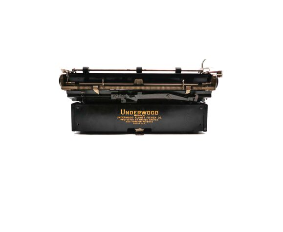 Machine à écrire underwood 4 bank révisée ruban neuf noir 1933