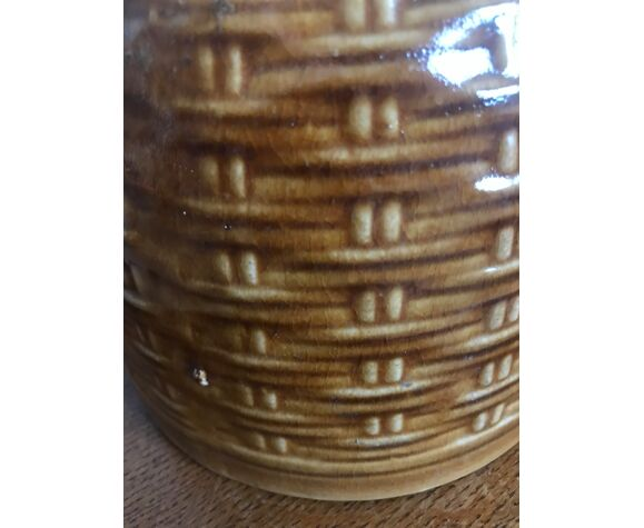 Cache-pot en céramique vintage
