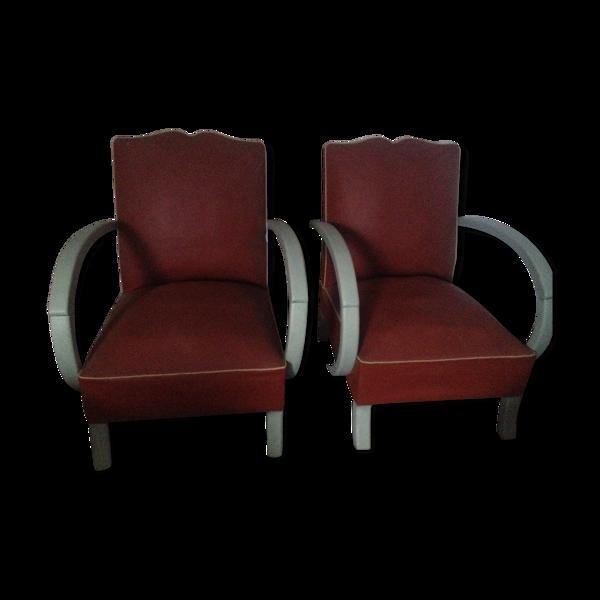 Deux fauteuils années 50