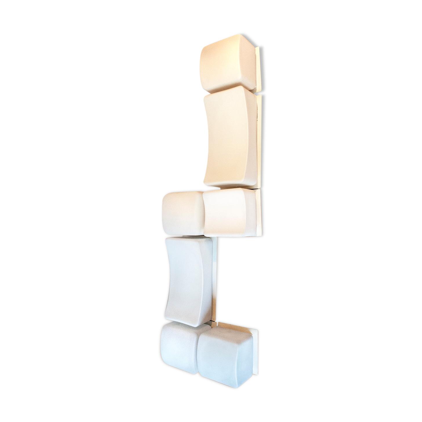 Lampe composable Onda de Claudio Salocchi Pour Lumenform Années 70