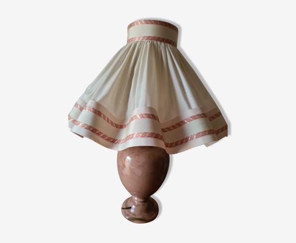 Lampe en ceramique