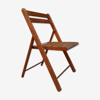 Chaise pliante en bois pour enfant