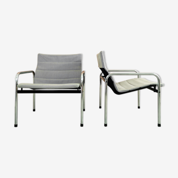 Dutch Design 'Ultrex' armchairs by Just Meijer for Kembo 1970