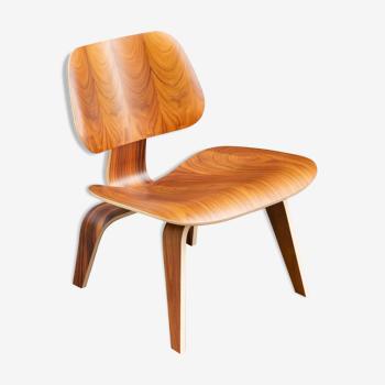 Chaise LCW en palissandre de Santos de Charles & Ray Eames - Herman Miller