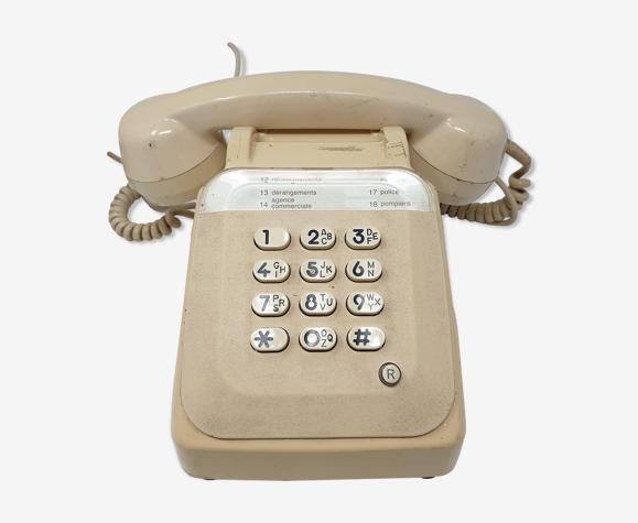 Téléphone bakélite blanc