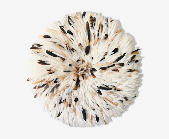 Juju hat blanc moucheté 80 cm