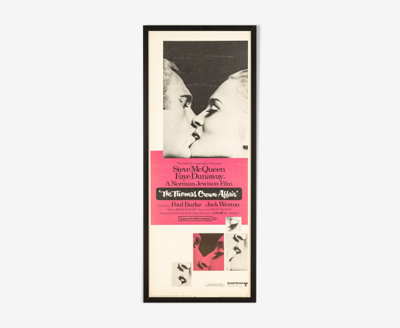 Affiche des années 1960 «The Thomas Crown Affair»-Steve McQueen