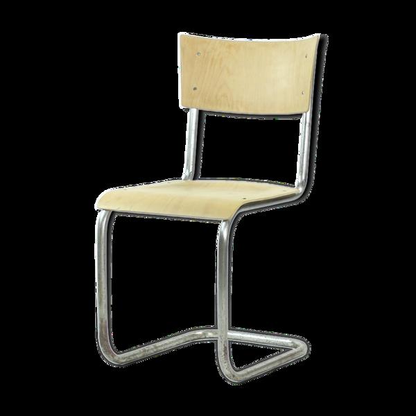 Chaise par Mart Stam pour Thonet, Tchécoslovaquie circa 1950