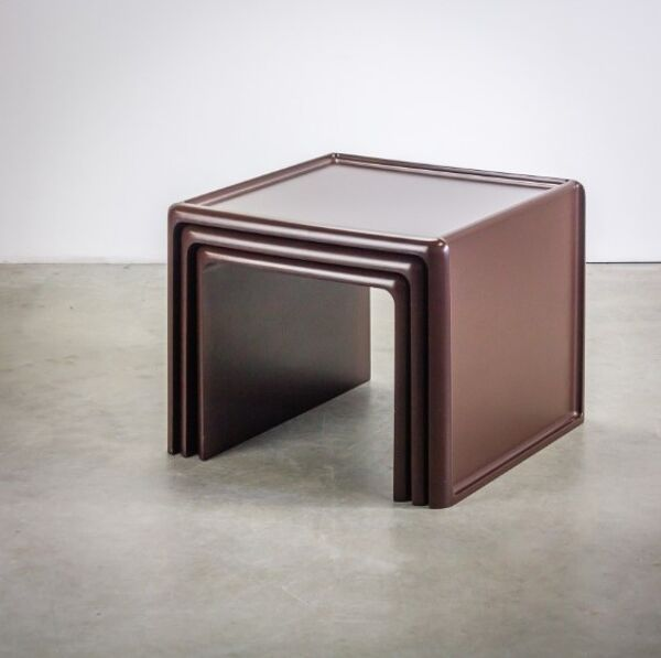 Ensemble de 3 tables gigognes Horn, Peter GHYCZY - 1970