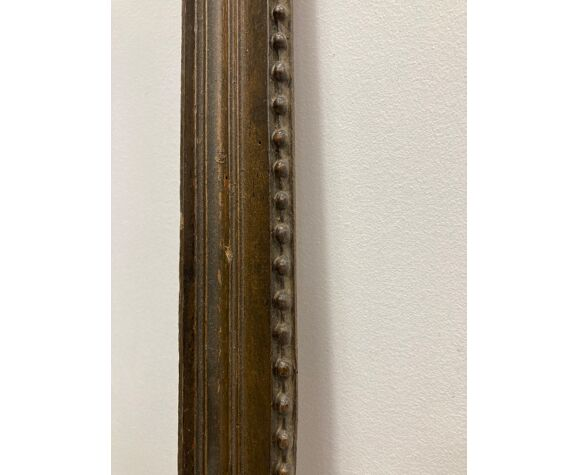 Old patinated frame