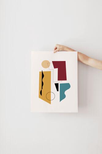 Affiche A3 - Concerto Ocre 29,7x42 cm