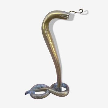 Cobra porte-montre en  bronze