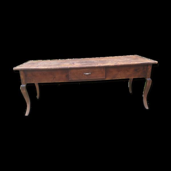 Selency Table de ferme ancienne en frêne