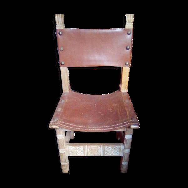 Chaise 18/19ème siècle