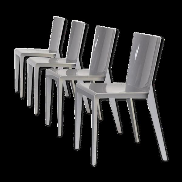 Chaise à manger Hannes Wettstein 'Alfa'  pour Molteni & Co