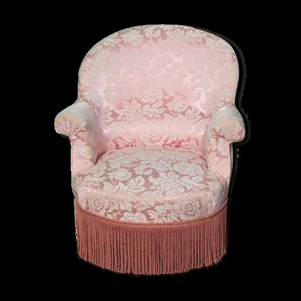 Fauteuil crapaud , style Napoléon III