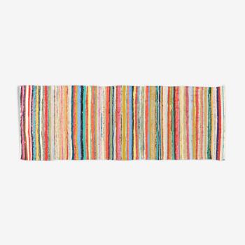 Tapis kilim anatolien fait à la main 240 cm x 86 cm