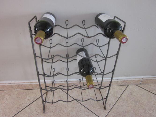 Porte bouteilles des annèes 50 en metal