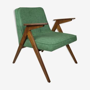 Green Bunny armchair by Józef Chierowski, 1970s