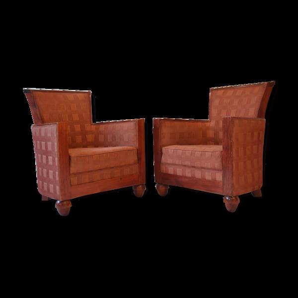 Paire de fauteuils Rosello de Paris France années 1960