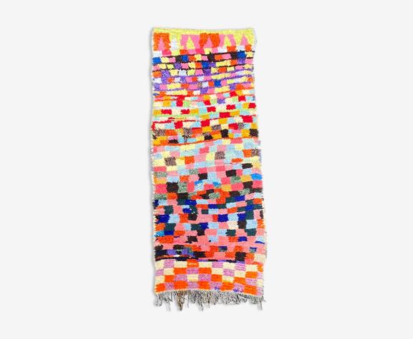 Tapis berbere boucherouite 85x235 cm
