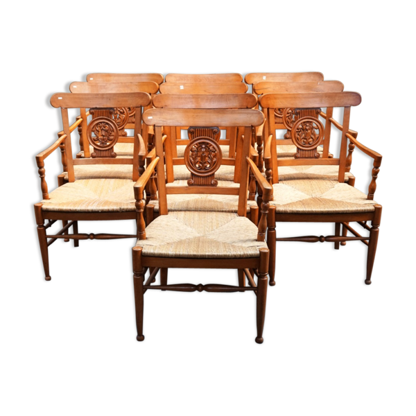 Selency Lot 10 armchairs