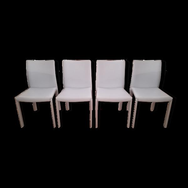 Lot de 4 chaises Bonaldo Angel
