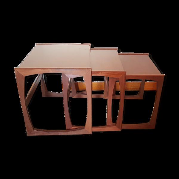 Tables gigognes G-Plan par Victor Wilkins