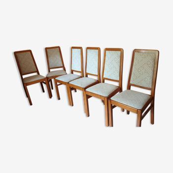 Lot de 6 chaises style scandinave