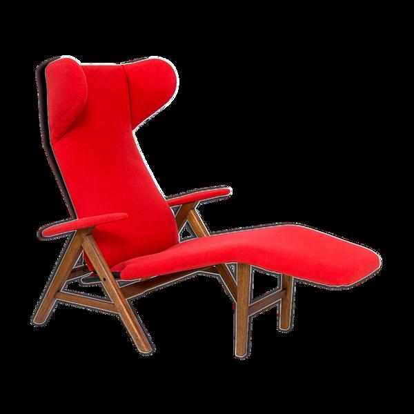 Selency Chaise longue moderne danoise design Henry W. Klein pour Bramin