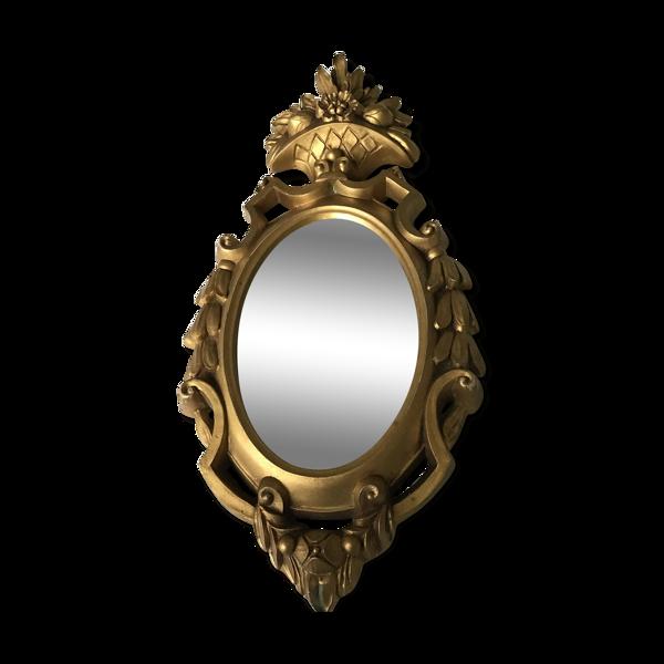 Miroir Roberta Wood pour Torino dore