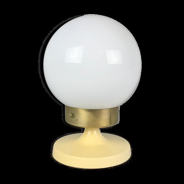 Lampe de table vintage de Tchécoslovaquie années 1980