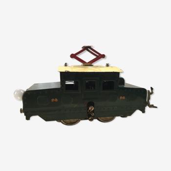 Old toy LR train