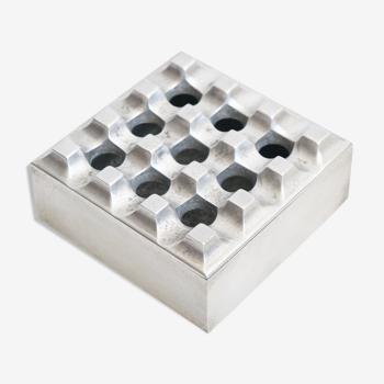 Cendrier Ultima 15 de 196 du designer suèdois Holger Backstrom pour Industriel Diverse Tin