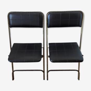 Chaises pliantes vintages