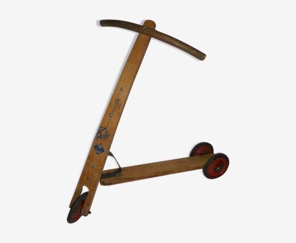 Trotinette en bois pour jouer ou pour décorer ABC Baby, an. 50