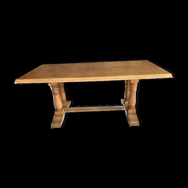Selency Table bois massif