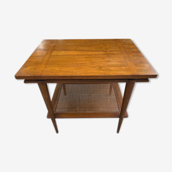 Table basse en bois naturel de John Widdicomb