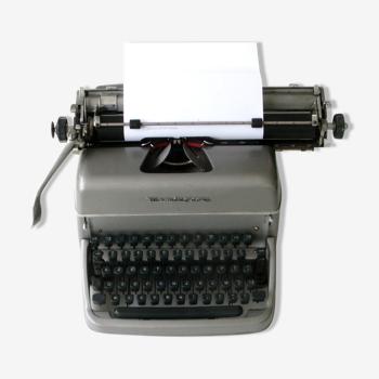 Ancienne Machine à écrire REMINGTON RAND - Année 50 - Déco industrielle