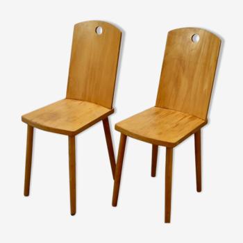 Chaises en hêtre