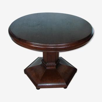 Table en chêne Art déco, années 1920