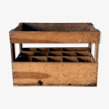 Casier à bouteille en bois