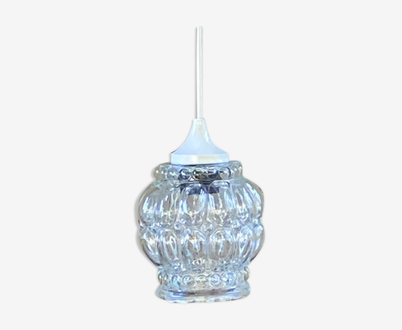 Molded glass hanging lamp 70