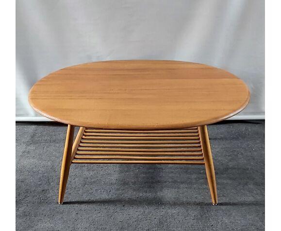 Table basse de L. Ercolani pour Ercol Royaume-Uni, années 1960