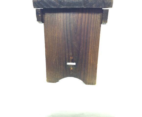 Tabouret pliable en bois