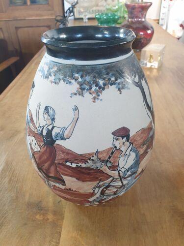 Poterie vase Ciboure