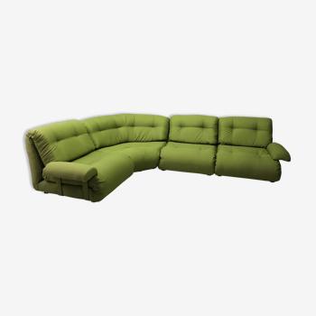 Canapé modulaire 4 places par Km Wilkins