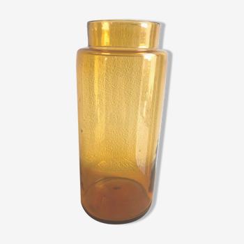 Ancien flacon de pharmacie en verre brun