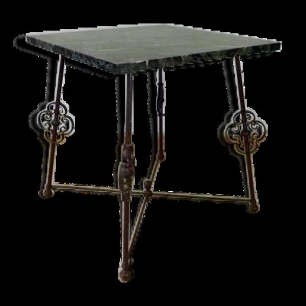 Table en fer forgé 1930