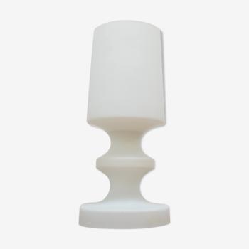 Lampe de table tout verre du milieu du siècle par Ivan Jakes, années 1970.